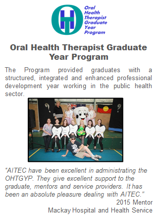 Oral Health Therapist Graduate Year Program